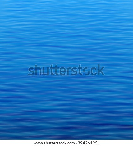 Illustration Abstract Water Background with Ripple. Water Waves Effects. Blue Underworld. Ocean or Sea Surface - Vector - stock vector