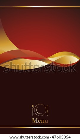 illustration background for food industry, menu, cover