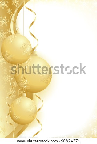 illustration contains the image of christmas greeting - stock vector