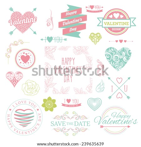 Illustration for Valentine's Day - stock vector