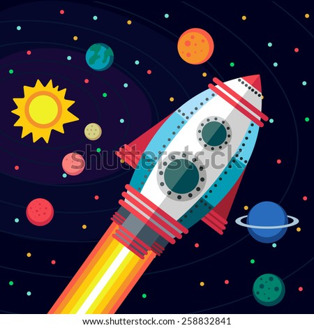 Cartoon planet stock photos images pictures shutterstock for 3d map of outer space