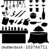 illustration Kitchen tools - stock vector