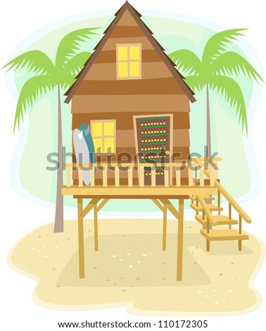 Tiki Hut Stock Photos, Images, & Pictures   Shutterstock