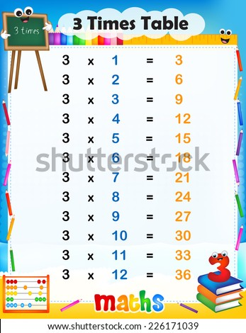 number names worksheets time table chart 1 30 free printable worksheets for pre school children. Black Bedroom Furniture Sets. Home Design Ideas