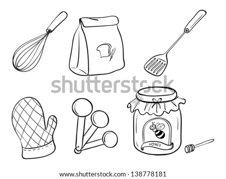 Flour Bag Stock Photos, Flour Bag Stock Photography, Flour Bag