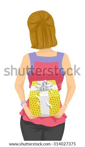 girl hiding clip art � cliparts