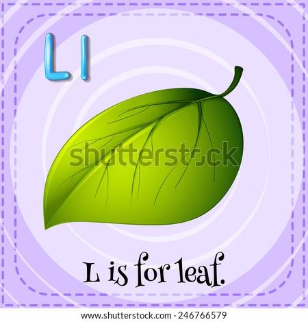 Alphabet Letter L Leaf Leaves Preschool Lesson Plan