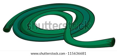 illustration of a pipe on a white background