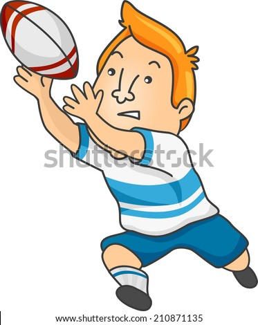 Rugby Cartoon Stock Im... Lion Roaring Drawing