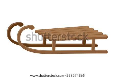 illustration of a sledge funny