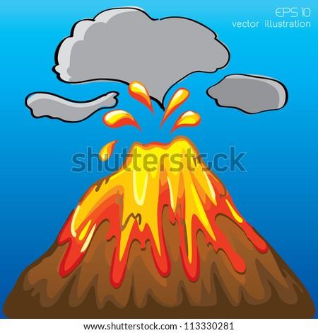 ... volcano not erupting cartoon volcano not erupting cartoon volcano not