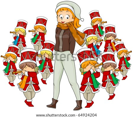Pipers Piping Stock Photos, Royalty-Free Images & Vectors ...