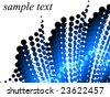 Illustration of abstract background - stock vector