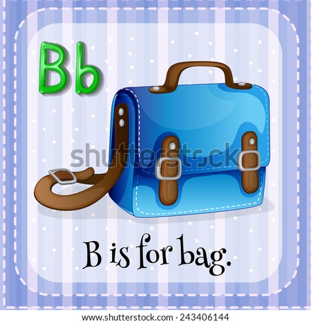 Image result for B is for bag