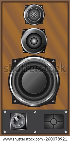illustration of an audio system