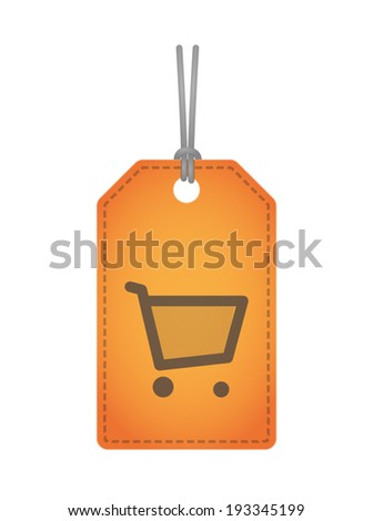Illustration of an isolated product label icon set - stock vector