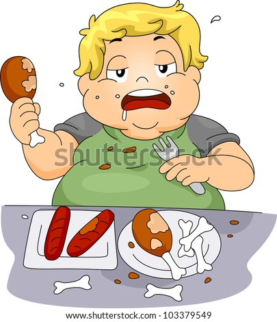 Over Eating Stock Images, Royalty-Free Images & Vectors | Shutterstock