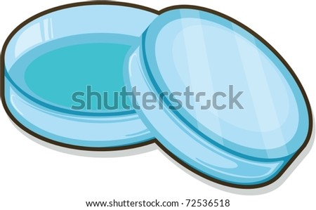 Illustration of box on a white background - stock vector