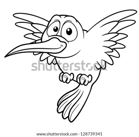 Cartoon Hummingbird Stock Images Royalty Free Images Vectors