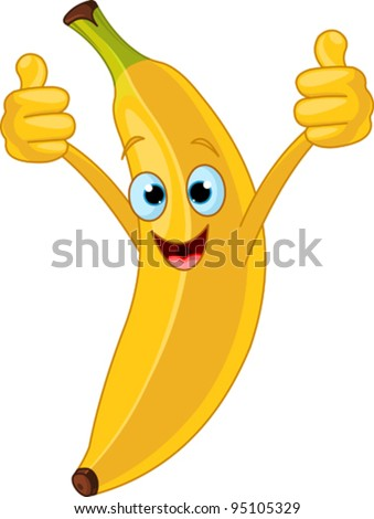 a cheerful mister banana See a rich collection of stock images, vectors, or photos for banana cartoon you can buy on shutterstock explore quality images, photos, art & more.