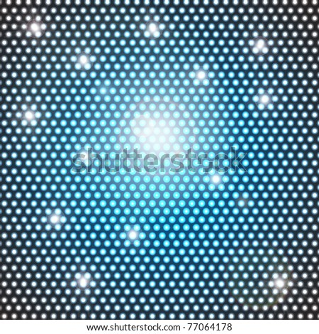 illustration of disco background with sparkling light