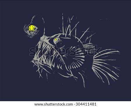 Angler Fish Stock Imag...