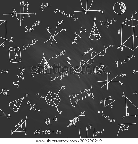 Illustration of Geometry Pattern as Vector Seamless Background