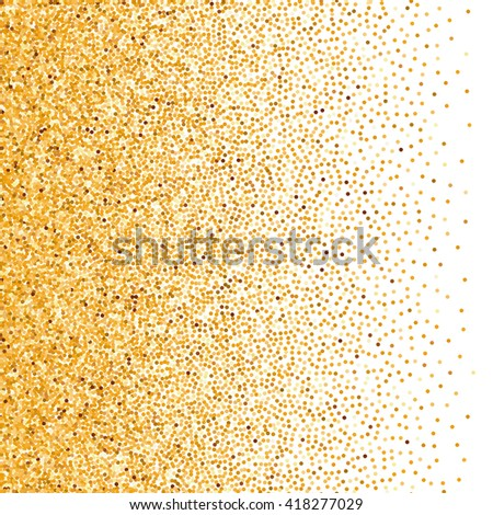 Illustration of Glitter Background in White For Your Text - stock vector
