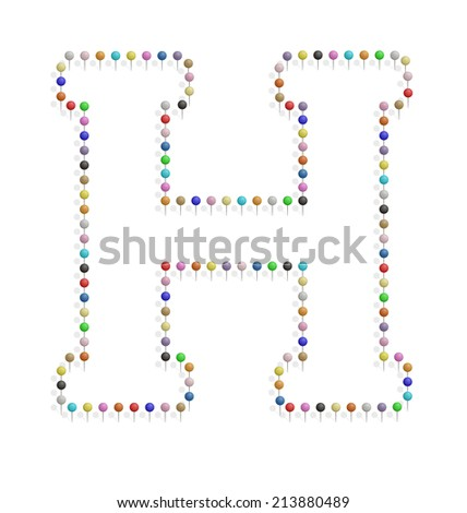 3d word vitamine d b12 multicolor stock illustration 367463879 illustration of h letter created with pushpin pronofoot35fo Image collections