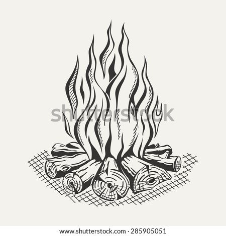 Camp Fire Stock Photos, Images, & Pictures | Shutterstock