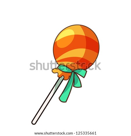 illustration of isolated candie - stock vector