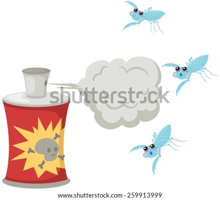 illustration of isolated set of barbecue on white  - stock vector