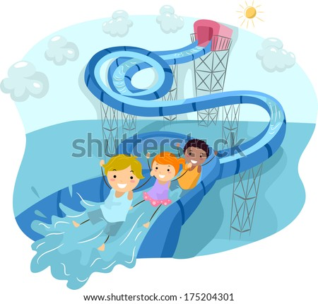 Water Slide Stock Images, Royalty-Free Images & Vectors ...
