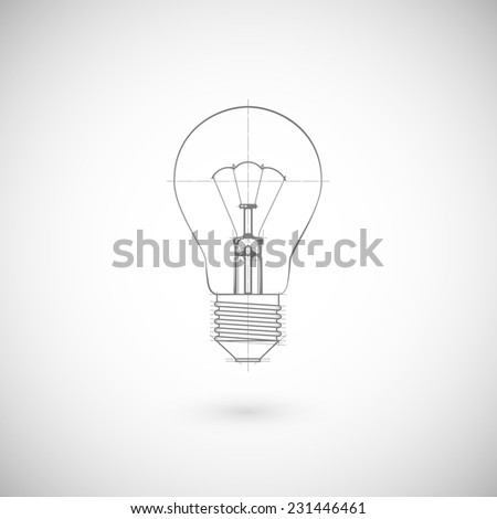 Illustration Of Lightbulb.