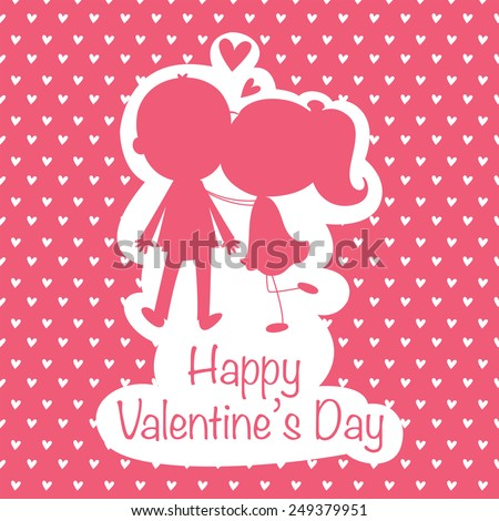 Set Happy Valentines Day Cards Vector 245644372 Shutterstock – Valentine Cards for Lovers