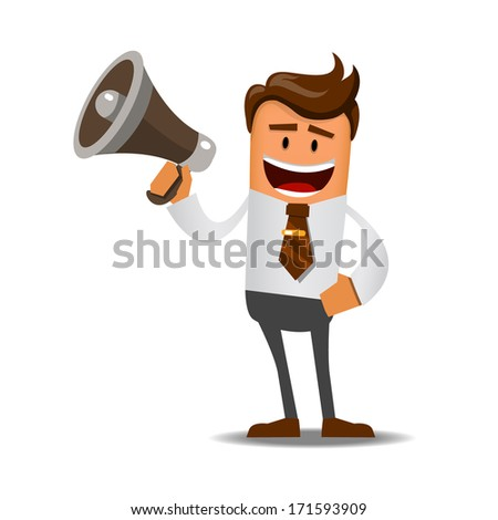 Illustration of office theme. vector illustration - stock vector