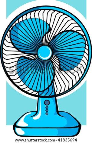Electric Fan Vector Stock Photos, Images, & Pictures ...