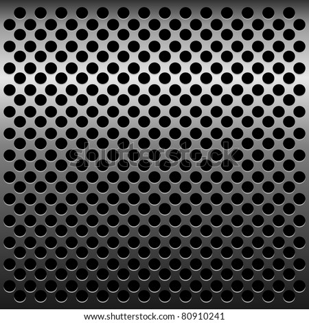 Illustration of titan metalic texture for design - vector - stock vector