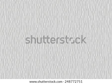 Illustration of vibrating black vertical lines on white background - stock vector