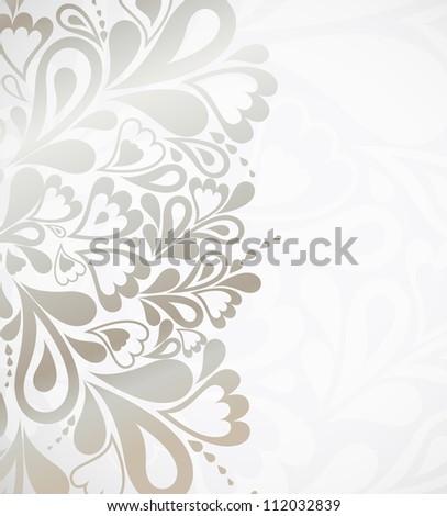 Illustration silver background for design. Vector - stock vector
