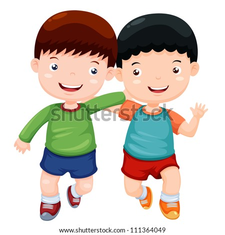 Two Boys Playing Isolated Stock Photos, Images, & Pictures ...