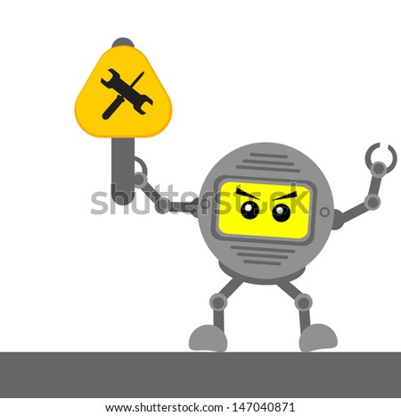 illustration vector graphic cartoon character of traffic sign