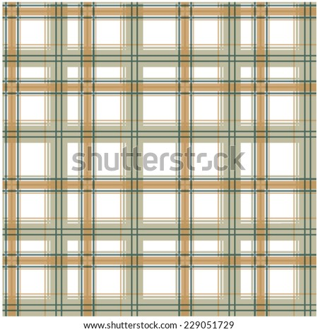 illustration vector handmade drawing Big plaid pattern