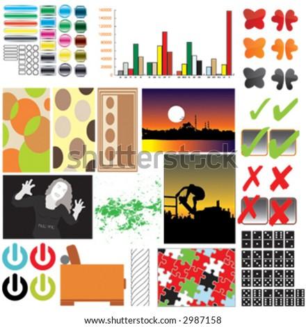illustration, vector, icon - stock vector