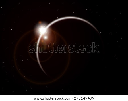 Illustration vector of galaxy
