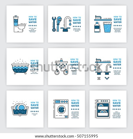 Water conservation stock images royalty free images for Cost saving ideas for home