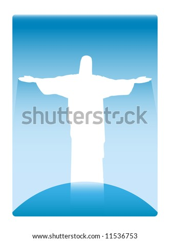 Image of Jesus Christ - stock vector