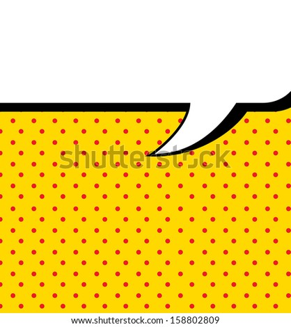 imagination comics icon over yellow background vector illustration  - stock vector