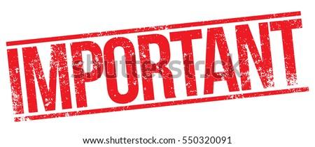 important stampのベクター画像素材 550320091 shutterstock