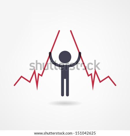 income icon - stock vector